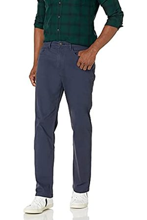 Goodthreads Amazon-Marke: Herrenhose, gerade Passform, 5-Pocket, mit komfortablem Stretch, Chino-Stil, Navy