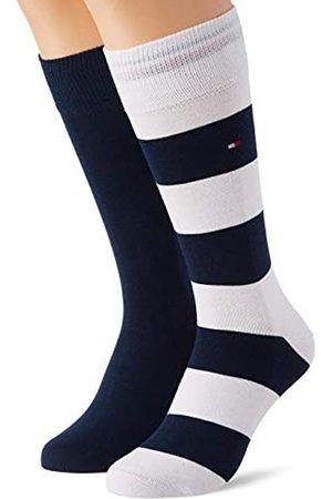 Tommy Hilfiger Herren Socken & Strümpfe - Mens Rugby Stripe Men's (2 Pack) Socks