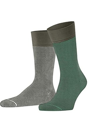 Esprit Herren Allover Stripe 2-Pack W SO Socken