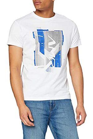 Hackett Hackett Mens AMR Graphic Logo T-Shirt