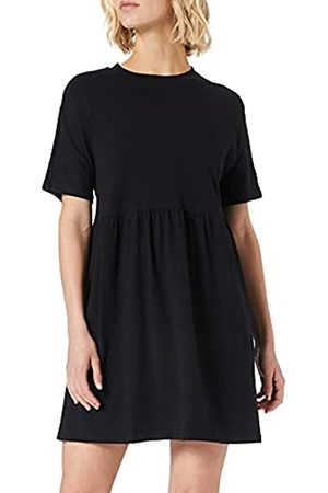 Noisy May Damen NMKERRY S/S Short Dress BG NOOS Kleid, Black