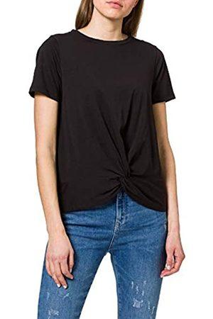 Object Damen OBJSTEPHANIE S/S TOP NOOS T-Shirt, Black