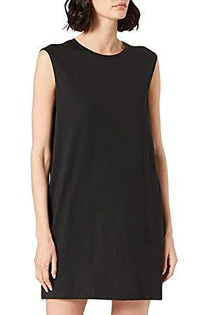 Noisy May Damen NMMAYDEN S/L Short Dress BG NOOS Kleid, Black