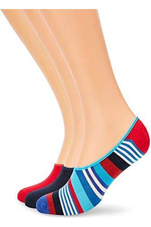 Happy Socks Herren Socken & Strümpfe - Herren 3-Pack Multi Stripe Liner Socken