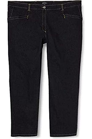 Ulla Popken Große Größen Damen Straight Leg Straight Jeans Stretchjeans Mony K 62939311, Gr. 42 (Herstellergröße: 21)
