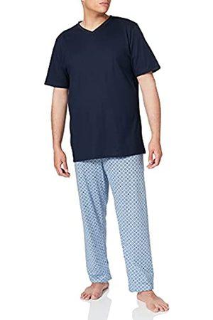 Seidensticker Herren Schlafanzug lang Pyjamaset