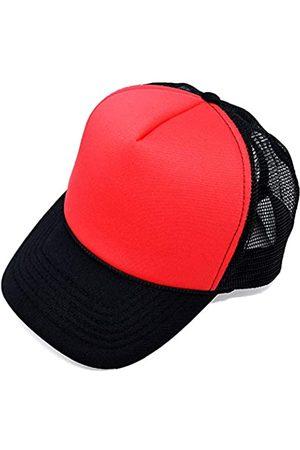 DALIX Trucker Hut Sommer Mesh Cap mit verstellbarem Snapback Strap - - Einstellbar