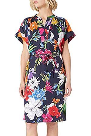 GANT Damen Freizeitkleider - Damen D2. Humming FLORAL Popover Dress Kleid