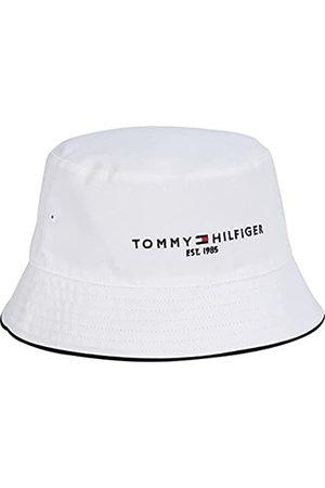 Tommy Hilfiger Herren TH Established REV Bucket HAT Verschluss, Desert Sky/Palm Print/White