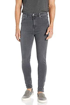 Nudie Jeans Unisex-Erwachsene Hightop Tilde Concrete Grey Jeans