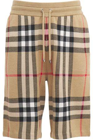 Burberry Herren Shorts - Strickshorts Aus Seide Und Wolle