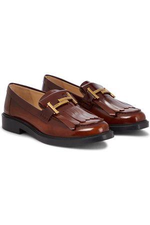 Tod's Damen Halbschuhe - Loafers Double T aus Leder