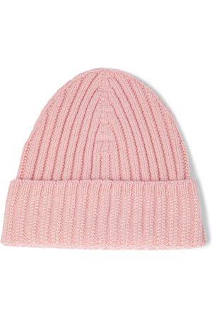 Barrie Damen Hüte - Rippstrick-Beanie aus Kaschmir