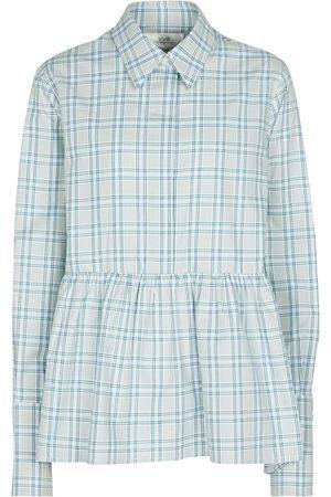 Victoria Victoria Beckham Kariertes Hemd aus Baumwolle