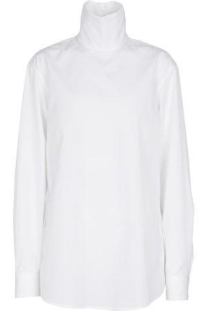 DRIES VAN NOTEN Bluse aus Baumwollpopeline