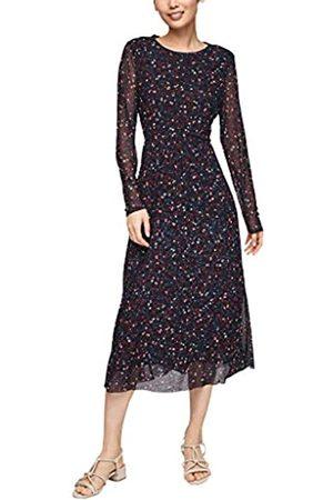 s.Oliver Damen Bedrucktes Kleid aus Mesh 40