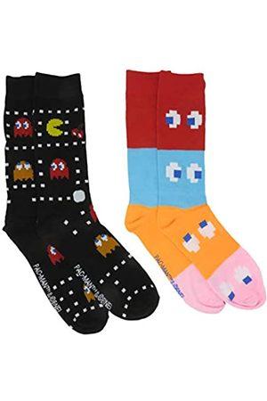 HYP Pac-Man Herren Crew-Socken, 2 Paar