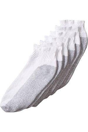 Fruit Of The Loom Men's Core 6 Pack Ankle Sock, White