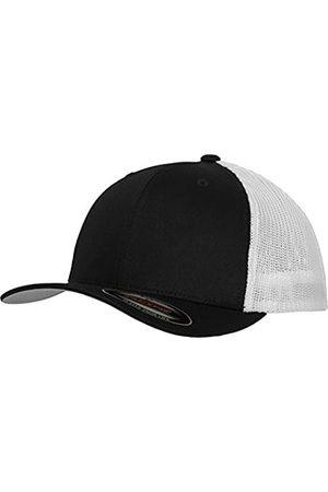 Flexfit Mesh Trucker Cap 2-Tone - Unisex Baseballcap für Damen und Herren, Farbe Black/White
