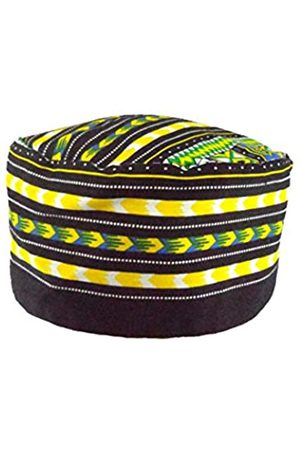 Vipada Handmade African Dashiki Hat Kente Muster Kufi Kofi Hut Cap - - MEDIUM