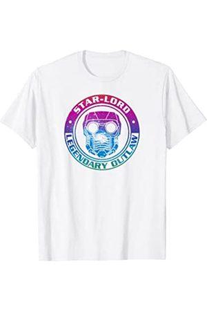 Marvel Damen Shirts - Guardians Galaxy Star-Lord Rainbow Outlaw T-Shirt C1