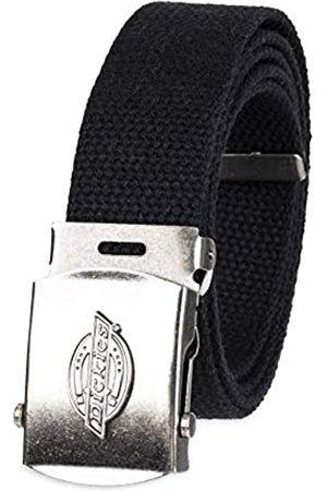 Dickies Herren-Gürtel aus Baumwolle mit Militär-Logo-Schnalle - - Einheitsgröße