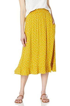 Goodthreads Easy Pull-on Fluid Twill Midi Skirts