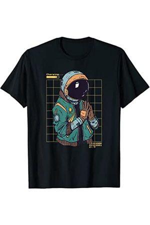 Helmet Jacket Gloves Space Futuristic Astronautenanzug Astronaut Helm Jacke Handschuhe Weltraum T-Shirt