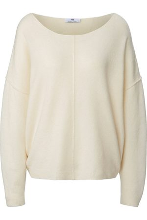 Peter Hahn Damen Pullover - Pullover in Oversized-Style weiss
