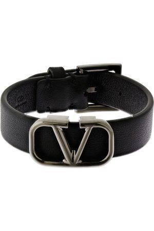 VALENTINO GARAVANI Herren Uhren - Armband Aus Leder Mit Logo