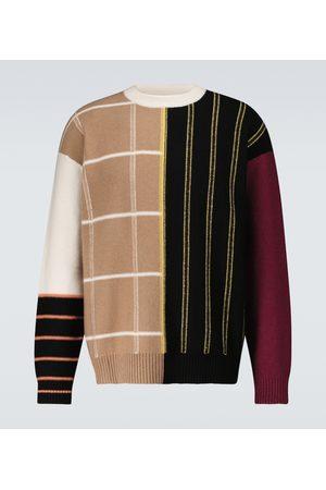 Loewe Gestreifter Pullover aus Kaschmir