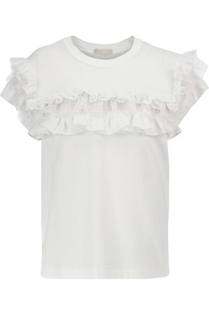 Alaïa Damen T-Shirts - T-Shirt aus Baumwolle