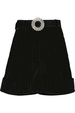 Miu Miu Shorts aus Samt