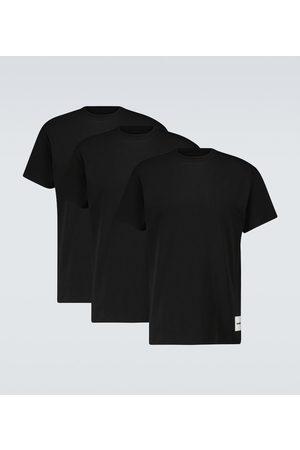 Jil Sander Set aus drei T-Shirts aus Baumwolle