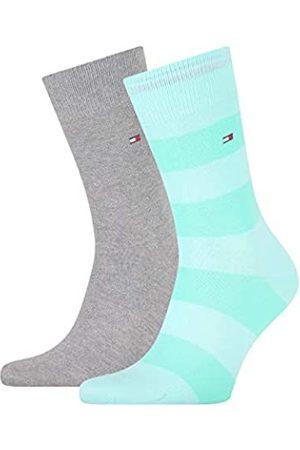 Tommy Hilfiger Mens Rugby Stripe Men's (2 Pack) Socks