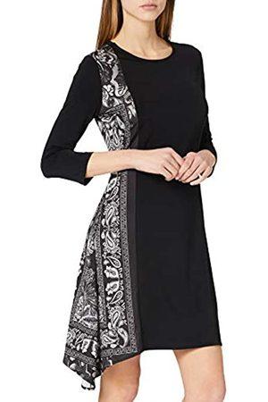 Desigual Womens VEST_LOS ANGELES Casual Dress, Black