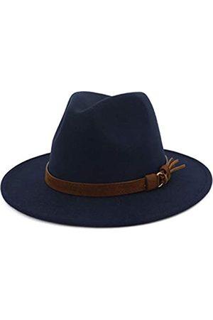 Lisianthus Herren Hüte - Fedora-Hut mit breiter Krempe, Vintage-Stil