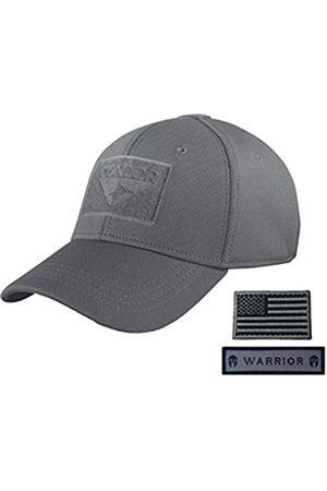 CONDOR Herren Caps - Flex Militärmütze (L/XL) mit USA-Flagge