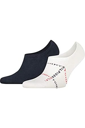 Tommy Hilfiger Herren Socken & Strümpfe - Mens Grid Men's Footie (2 Pack) Socks