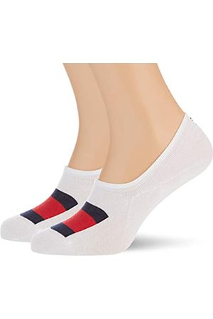 Tommy Hilfiger Herren Socken & Strümpfe - Mens Flag Men's Footie (2 Pack) Socks