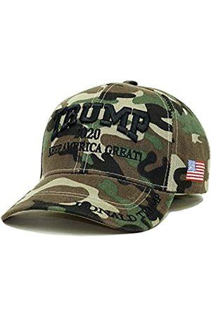 Bingoo Herren Caps - Trump 2020 Keep America Great Stickerei Kampagne Hut USA Baseball Cap - - Einheitsgröße