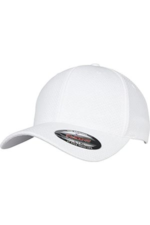 Flexfit Unisex 3D Hexagon Jersey Cap Kape, White