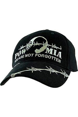 United States POW MIA Barb Draht gestickten Hut - verstellbare Schnalle Verschlusskappe für Herren
