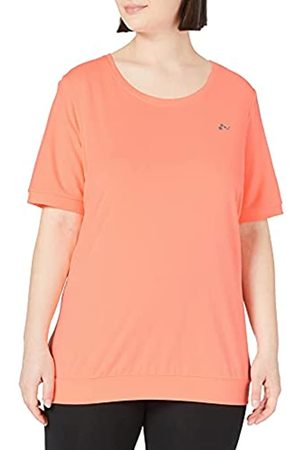 Only Play Damen Shirts - Damen ONPCLARISE 2/4 Training Tee Curvy - Opus T-Shirt