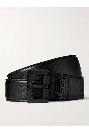 Saint Laurent Herren Gürtel - 3cm Full-Grain Leather Belt