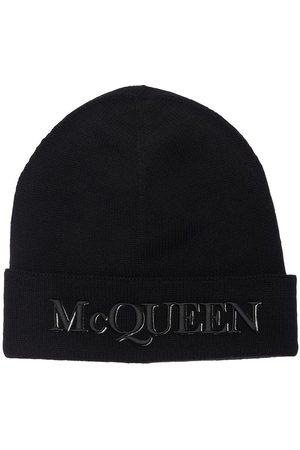 Alexander McQueen Beaniemütze Aus Wolle Mit Logopatch