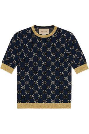 Gucci Damen Oberbekleidung - Top aus GG Baumwolllamé