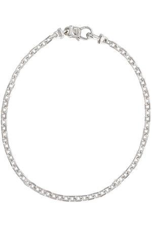 "TOM WOOD Herren Armbänder - Anker 7.7"" sterling silver bracelet - Metallisch"