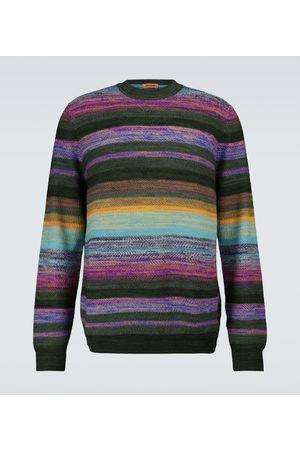 Missoni Gestreifter Pullover aus Wolle