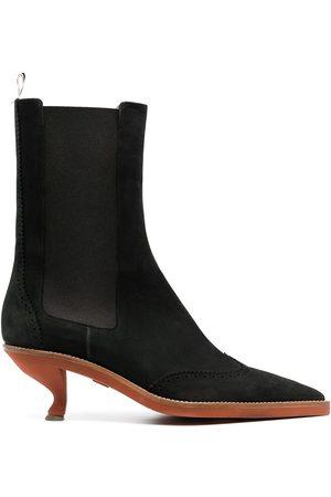 Thom Browne Damen Stiefeletten - Chelsea-Boots mit Budapesterdetails
